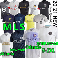 20 21 mls Jersey de fútbol Inter Miami La Galaxy FC Minnesota DC United New York Red Orlando City Bulls Atlanta Montreal Impact Football Shirt