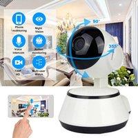 WiFi IP Vigilancia de la cámara 720p HD Visión nocturna de la noche de dos vías Audio Video inalámbrico CCTV Cámara Baby Monitor Sistema de seguridad para el hogar JK01