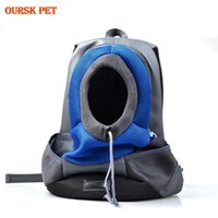 Cat Carriers,Crates & Houses Pet Outdoor Carrier Backpack Cats Front Bag For Large Medium Small Dogs Double Shoulder Portable Travel Carry