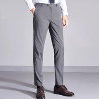 Men's Suits & Blazers ICPANS Men Suit Pant Slim Fit For Wedding Formal Pants Mens Dress Business Pantalon A Carreau Homme Classic