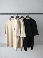 2021 AMI erkek kadın Yuvarlak T Gömlek AMI PMIPARIS T Gömlek Klasik Nakış Moda T Gömlek Boyutu S-M-L-SL-XXL