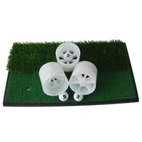 Golf Training Aids Hole Cup Putting Trainer Swinging Plastic Tool Backyard Practice Chipping For