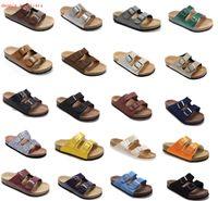 Orignal Kutu Ile Marka Ayakkabı Erkek S Kadın Gizeh Stil Düz Rahat Herringbone Sandalet Yaz Plaj Hakiki Deri Terlik