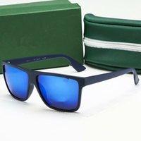 الفاخرة الجديدة ماركة الاستقطاب مصمم نظارات رجالي المرأة الطيار uv400 نظارات نظارات إطار معدني بولارويد عدسة الشمس