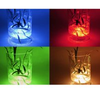 Led Submersible Light Battery Operated 10leds RGBUnderwater Night Lamp Garden Swimming Pool Light for Wedding Party