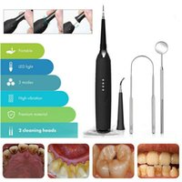 Electric Ultrasonic Sonic Dental Scaler Tooth Calculus Remover Cleaner Tooth Stains Tartar Tool Whiten Teeth Tartar Remove 210310