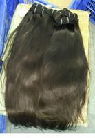 두꺼운 이중 그려진 원시 베트남 직선 머리카락 100 % 큐티클 정렬 된 머리카락 12A 프리미엄 품질 3 번들 하나 도너