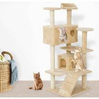 """New52 """"Cat lelshist башня Общая кошка гнездо кошка схватить доску домашнего животного котенка играет jllvsd xmh_home"""