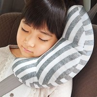 Children Auto Car Seat Headrest Pad Shoulder Support Cushion Cotton Soft Sleep Pillow High Quality Car Neck Pillow 1 Pc