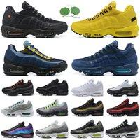 air max OG Neon Erkekler Koşu ayakkabıları Ne Üçlü Siyah Beyaz Lazer Fuşya Erkek Kadın eğitmen açık spor sneaker 36-45