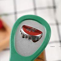 Plastic Colorful bottle openers beer wine opener kitchen restaurant essentials FWE9680