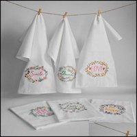 Napkin Textiles & Garden6Pcs,Scandinavian High-Quality Embroidered Tea Towels Cotton Table Napkins Home Kitchen Servetten Wedding Cloth,45*6
