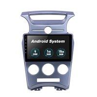 9 인치 안드로이드 자동차 DVD 멀티미디어 플레이어 스크린 스테레오 라디오 오디오 GPS 네비게이션 SAV 헤드 유닛 KIA Carens 수동 A / C 2007-2012