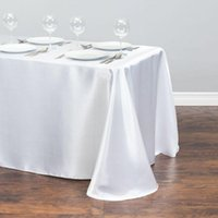 Table Cloth Satin Rectangle Wedding Party Decorations Cover Christmas Tableclothes For Home Event Decors