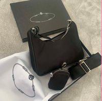 2021Полончик холст холст HOBO для женщин для женщин роскоши дизайнеры дизайнеры сумки сумки Tote цепи Пресбыопические сумки мессенджера сумки