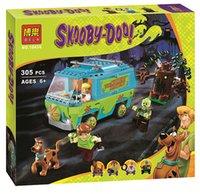 10430 متوافق مع lepines سكوبي دو آلة الغموض حافلة اللبنات لعبة هدايا عيد لعب للأطفال LJ200928