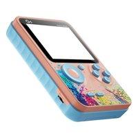 500 في 1 المحمولة المحمولة ألعاب الفيديو وحدة الرجعية 8 بت صغير لعبة اللاعبين av لعبة لاعب لون lcd الاطفال هدية