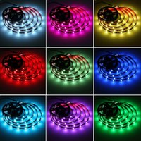 Mingelight TV Luminária LED Luzes tiras 3m RGB com controle remoto 16 cores Multi-cena
