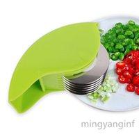 Герб роликового ролика, ручная ручная стразка Chive Mint Cutter с 6 лезвием из нержавеющей стали Кухня кухня овощной нагрева My-Inf0348 101 S2