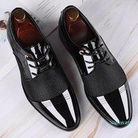 Sıcak satış-büyük boy erkekler elbise ayakkabı kalite erkekler resmi ayakkabı erkekler iş oxford ayakkabı marka düğün sivri 38-48