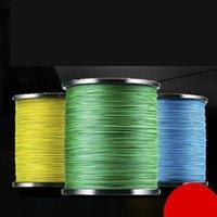8 fili intrecciati linea di pesca 1000m PE multicolor 0.8-10 accessori per la pesca