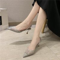 Corporis 2021 hot sale new sandals women pointed toe shallow ladies prom wedidng shoes high heels women sandals summer shoes