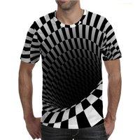 Diseñador de hombres Camisetas Impresas 3D DIY DIY PERTENIDORIO PERTINERO RÁPIDO RÁPIDO RÁPIDO CAMBIO CAMBIO CAMBIO CAMISETA CASUAL COLLAR REDONDO CALLE GOTHIC GOTHIC GOTHIC