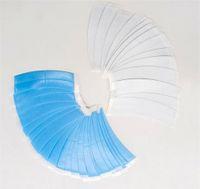 36 PCS / Bolsa Sistema de cabello delantero de encaje Troupee Tapas de cabello Tiras Adhesivas Tiras de peluca Cintas de peluca Forma de doble cara