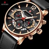 Дизайнер Роскошный Бренд Часы Награда Мода Спорт ES Для Мужчины Синий Топ Военный Кожаный Запястье Человек Часы Хронограф Запястье