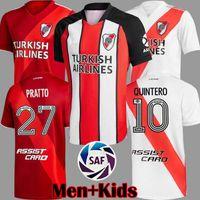أعلى جودة 20 21 نهر لوحة لكرة القدم جيرسي مارتينيز cavenaghi scocco 2020 2021 quintero لوحة بعيدا كرة القدم مفهوم قميص الرجال أطقم الاطفال