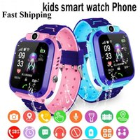 Q12 Kinder Smart Watch SOS Phone Watch Smartwatch Für Kinder mit SIM-Karte Foto Wasserdichte IP67 Kinder Geschenk für iOS Android