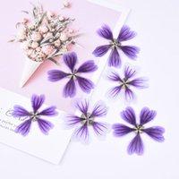Dekorative Blumen Kränze 8 teile / tasche schluck getrocknete blume diy handgeprägte geprägte geprägte pflanze probiere grußkarte lesezeichen aroma kerze pres