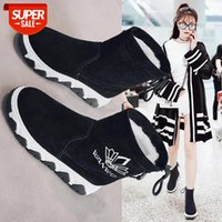 Women Casual Shoes Light Winter Snow Boots Fashion Short Boots Women High Top Shoes Popular Basic Trend Ankle #P24R