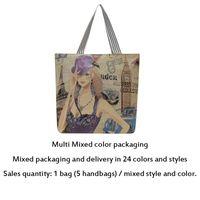 Women Shopping Bags Fashion casual Womens Bag Handbag Totes High-capacity Canvas Oxford Large volume wholesale CZ4006