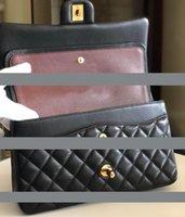 Designer- Frauen Klassische Kettenklappe Taschen Dame Umhängetasche Weibliche Crossbody Geldbörsen Handtaschen