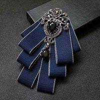 Los accesorios del departamento de corbatas del escenario de la boda de la pajarita de la pajarita de los hombres están ahora disponibles