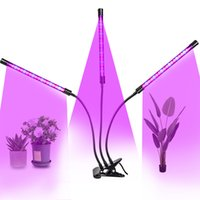 5V USB LED Cultive Light Spectrum LED TUBO LED Dimmable Clip-on Fitolampy Temporizador Phyto Lámpara para plantas Flores Interior Cultivar Tienda Caja Fitolamp