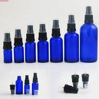 500 x 10 ml 15 ml 30 ml 50 ml de bouteille de verre de verre de verre bleu de verre de verre de pulvérisation de parfum COBALT PARFUMELTITY