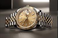 INS 스타일 판매 ChristmasGift 41mm 휴일 선물 시계 자동 스테인레스 스틸 블랙 다이얼 망 사파이어 시계 Luxurys 원래 모델 116610 304