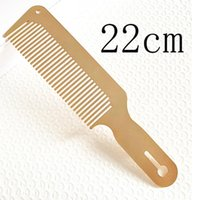 Hair Brushes 270A Men's Stainless Steel Comb Anti Static Hairdressing Clipper Combs Styling Tool For Barber Haircut