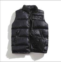 Новая Канада Стиль Стиль Мужская Фристайл Перо вниз N Зимняя Куртка Модный Жилет Bodywarmer Усовершенствованные Водонепроницаемые Ткань Мужчины и Женщины Cousssuit M-3XL