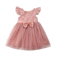Cute Baby Girl Summer Vestidos Toddler Baby Girls Flower Dre...
