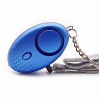 2021new 130db Yumurta Şekli Kendini Savunma Alarmı Kız Kadın Güvenlik Uyarı Korumak Kişisel Güvenlik Çığlık Loud Anahtarlık Alarmları