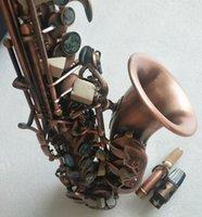 Yanagisawa S-991 Musicistic strumento Bocchino BB BB Soprano Soprano Sassofono Antique Rame Rosso B rosso B con cassa