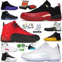 أحذية Nike Air Jordan Retro 12 Aj Jumpman Jordans 12s أحذية كرة السلة XII Twist Flu Game Ice Cream Dark FIBA Bulls Cherry OVO Concord احذية رياضية رياضية