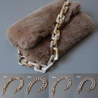 Bag Parts & Accessories Resin Chain Handle Acrylic Shoulder Vintage Strap Detachable Replacement Luxury