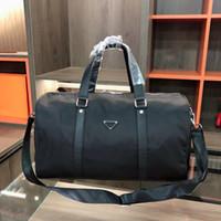 Fashion Work Mens Strap Bags Tote Saco De Sacrona Nylon Homens Lidar com Bagagem Travel Black Top Triple Duffle Ombro com Vledn Ecmgr
