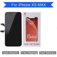 100% Marka Yeni Incelt Iphone XS MAX LCD 3D Dokunmatik Ekran Digitizer Değiştirme Meclisi Mükemmel Ücretsiz Gemi