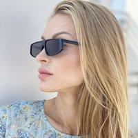 2020 Новая чистая красная же маленькая рамка солнцезащитные очки женщины 1933 мода улица фото солнцезащитные очки женщин тренд партитура
