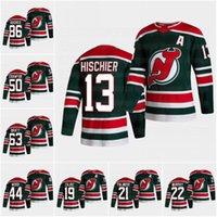 50 Corey Carawford New Jersey Devils 2021 Retro Retro Jerseys Nico Hischier Jack Hughes Kyle Palmieri Andreas Johnsson Bratt Kovaslchuk